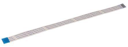 Wurth Elektronik WR-FFC FFC Jumper Cable, 1mm Pitch, 10 Way, 200mm Cable Length, 1 A, 60 V ac (5)