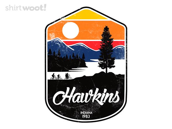 Hawkins, Indiana T Shirt