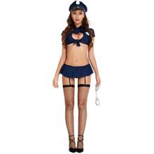 6packs Garter Lingerie Set & Handcuffs & Hat & Stockings