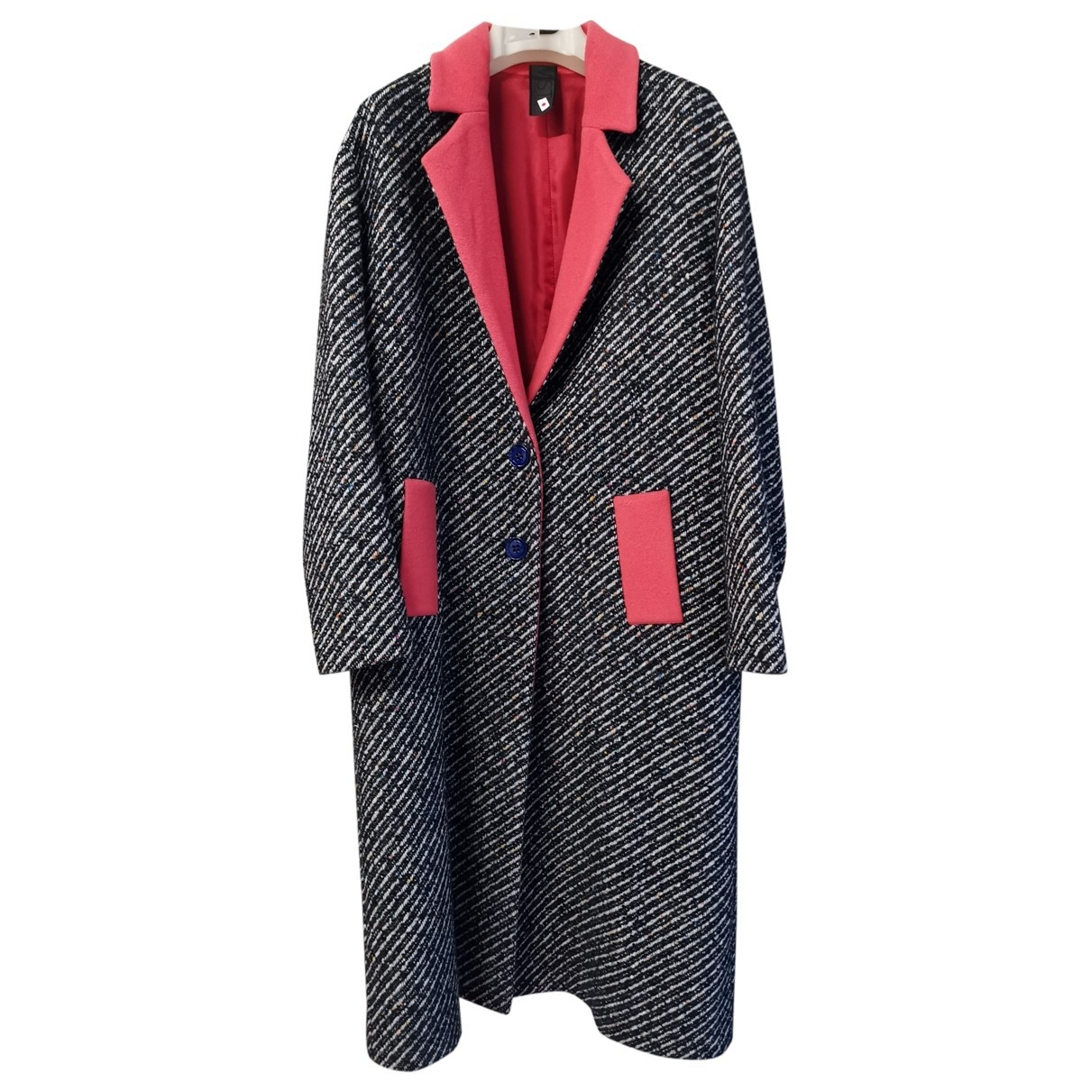 Twisty Parallel Universe \N Grey Wool coat for Women 40 IT