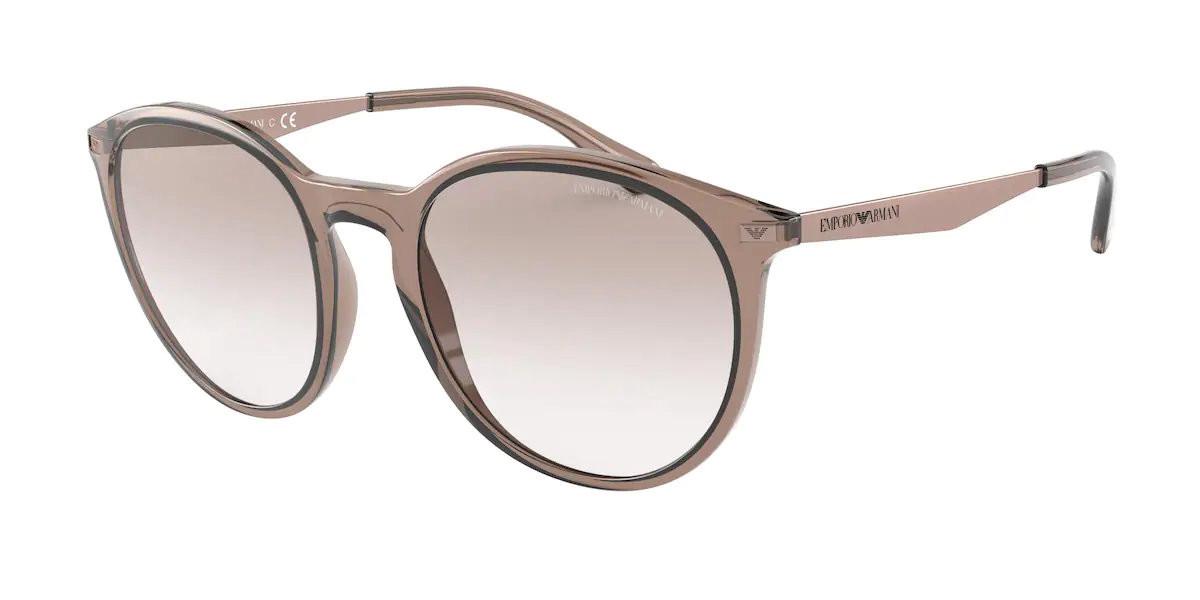 Emporio Armani EA4148 585013 Women's Sunglasses Brown Size 54