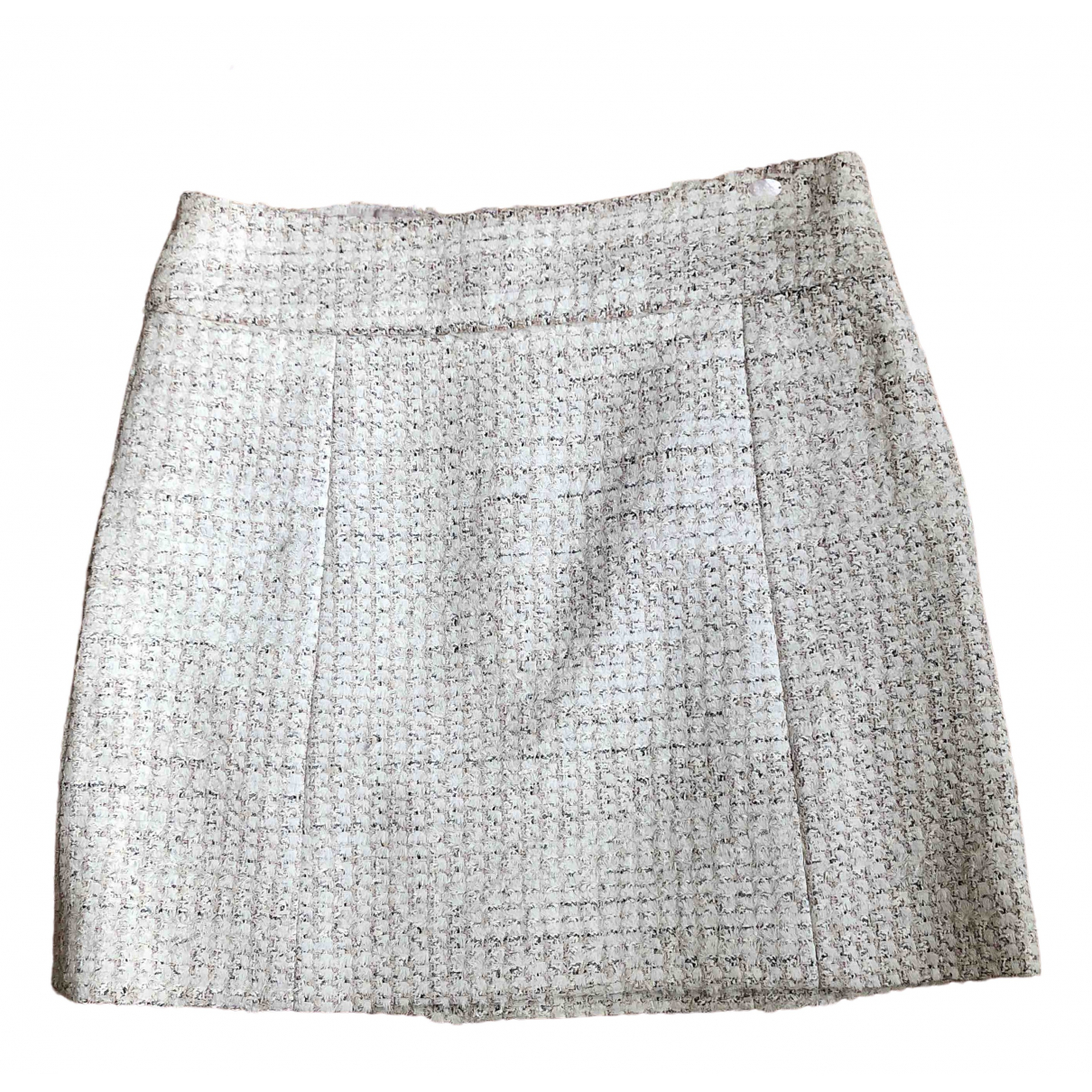 Chanel \N Ecru Tweed skirt for Women 38 FR