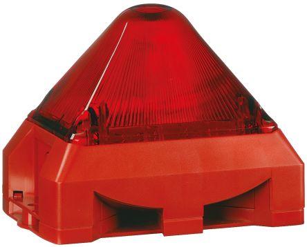 Pfannenberg PY X-MA-10 Sounder Beacon 100dB, Red Xenon, 230 V ac
