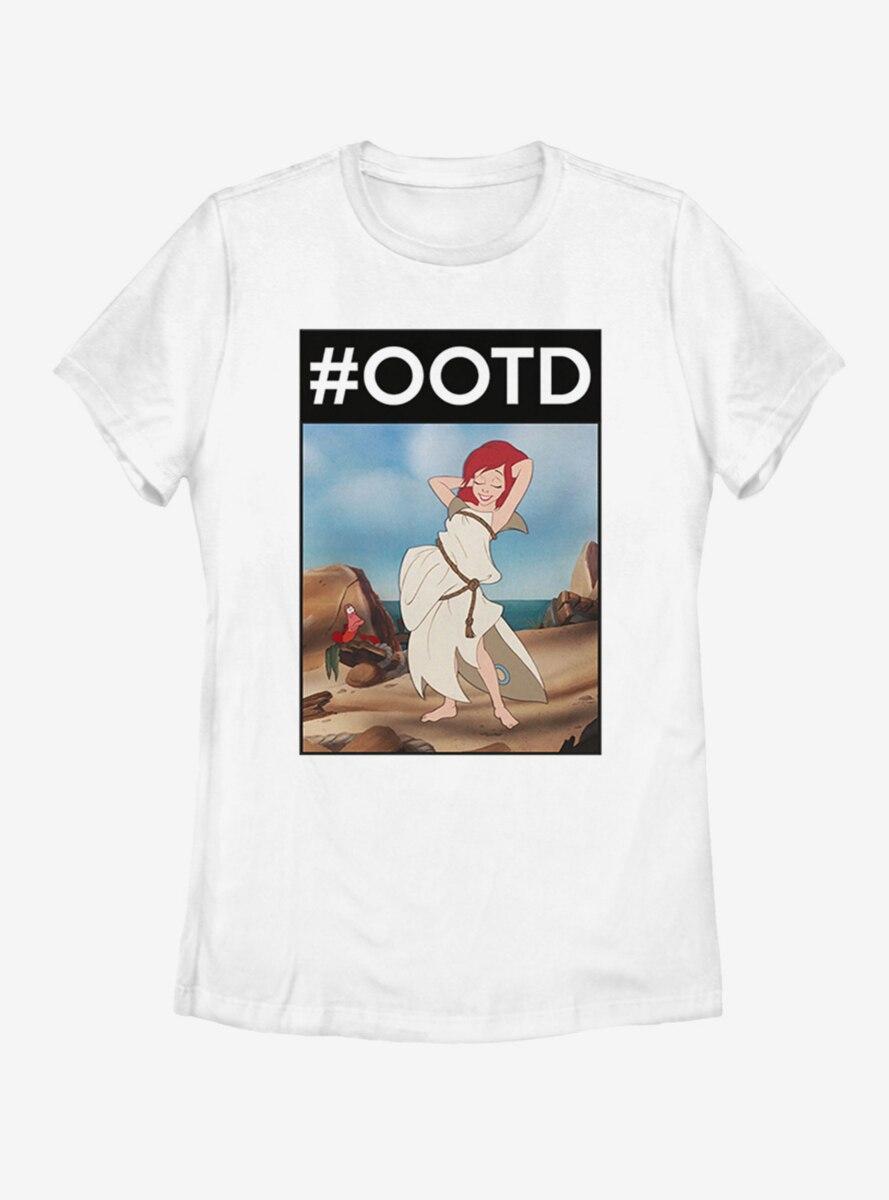 Disney The Little Mermaid OOTD Ariel Womens T-Shirt