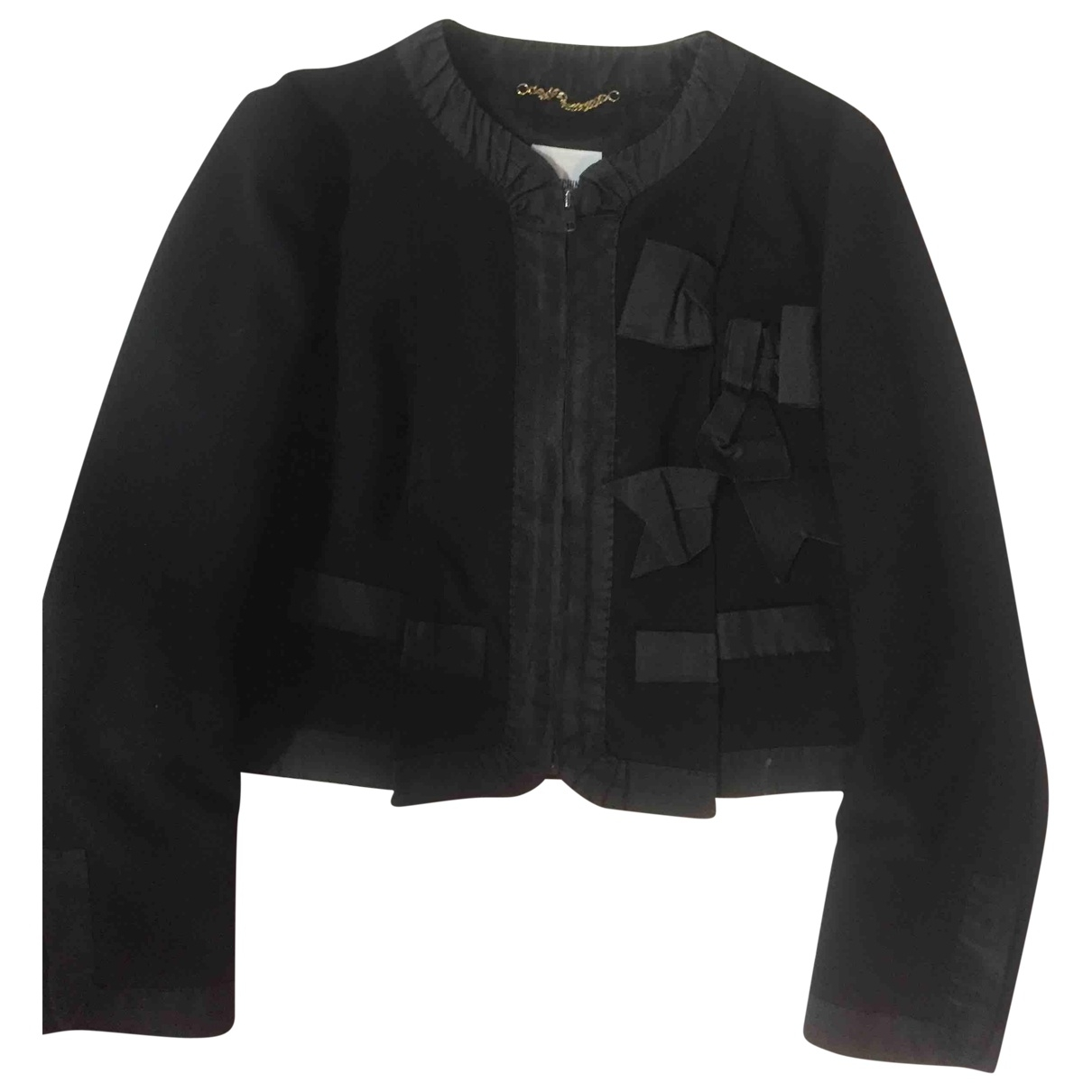 Moschino \N Black jacket for Women 44 IT