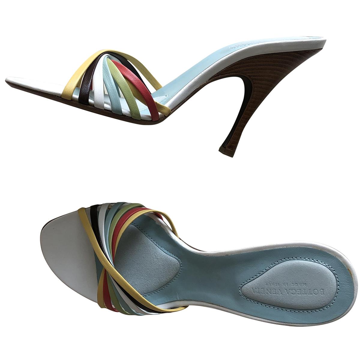 Bottega Veneta \N Multicolour Leather Sandals for Women 38 EU