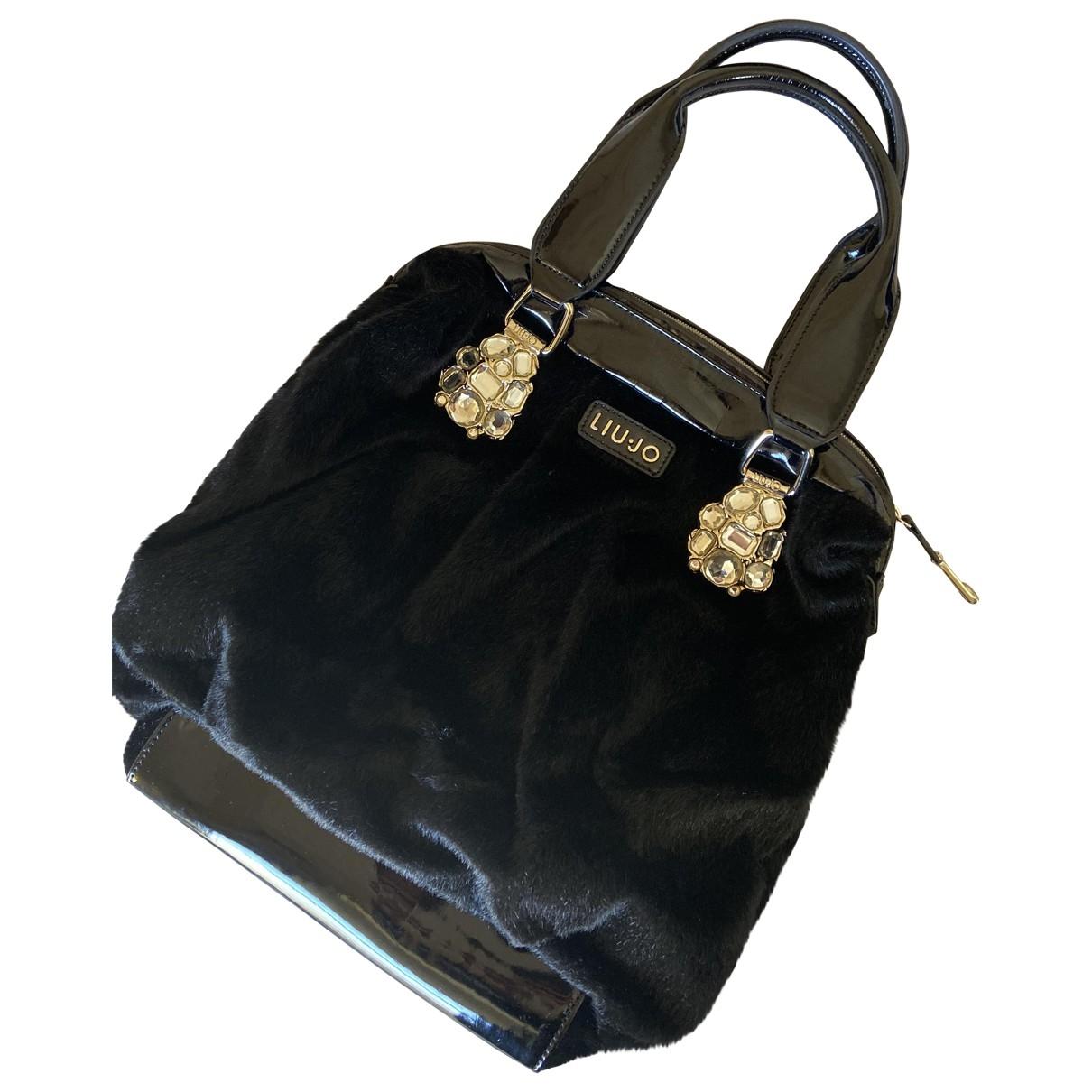 Liu.jo \N Handtasche in  Schwarz Synthetikpelz