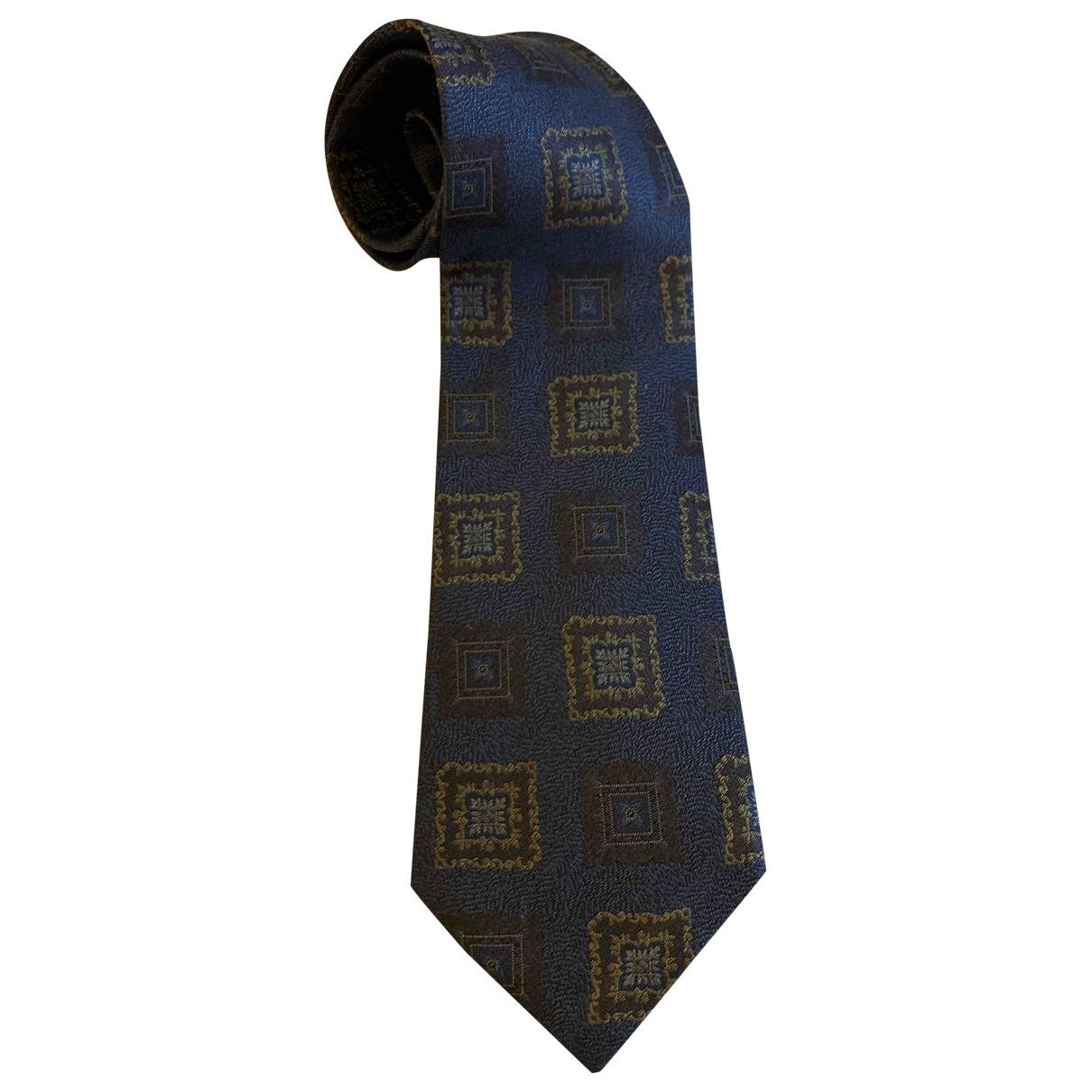 Giorgio Armani \N Krawatten in  Bunt Seide