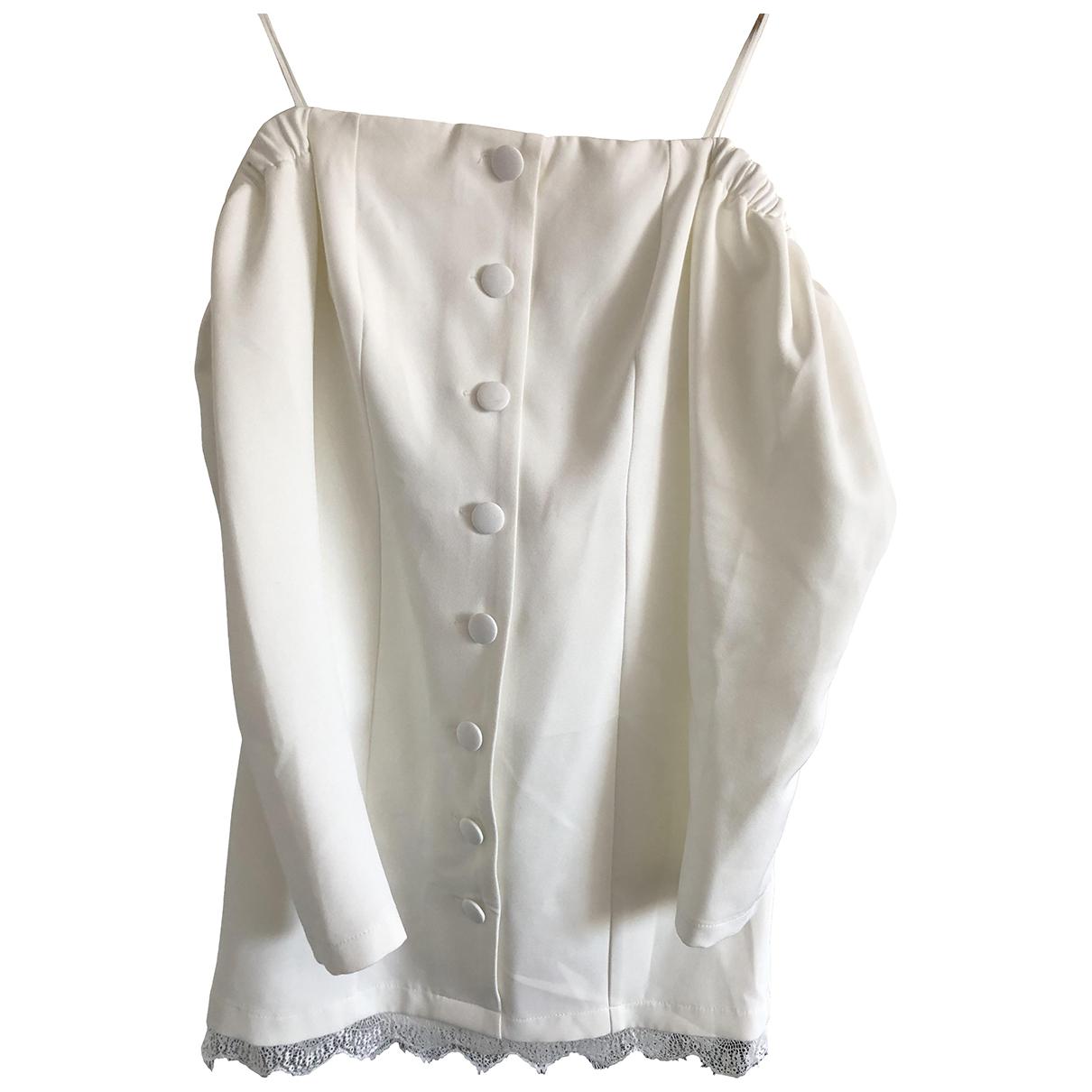 tophop \N White dress for Women 6 UK