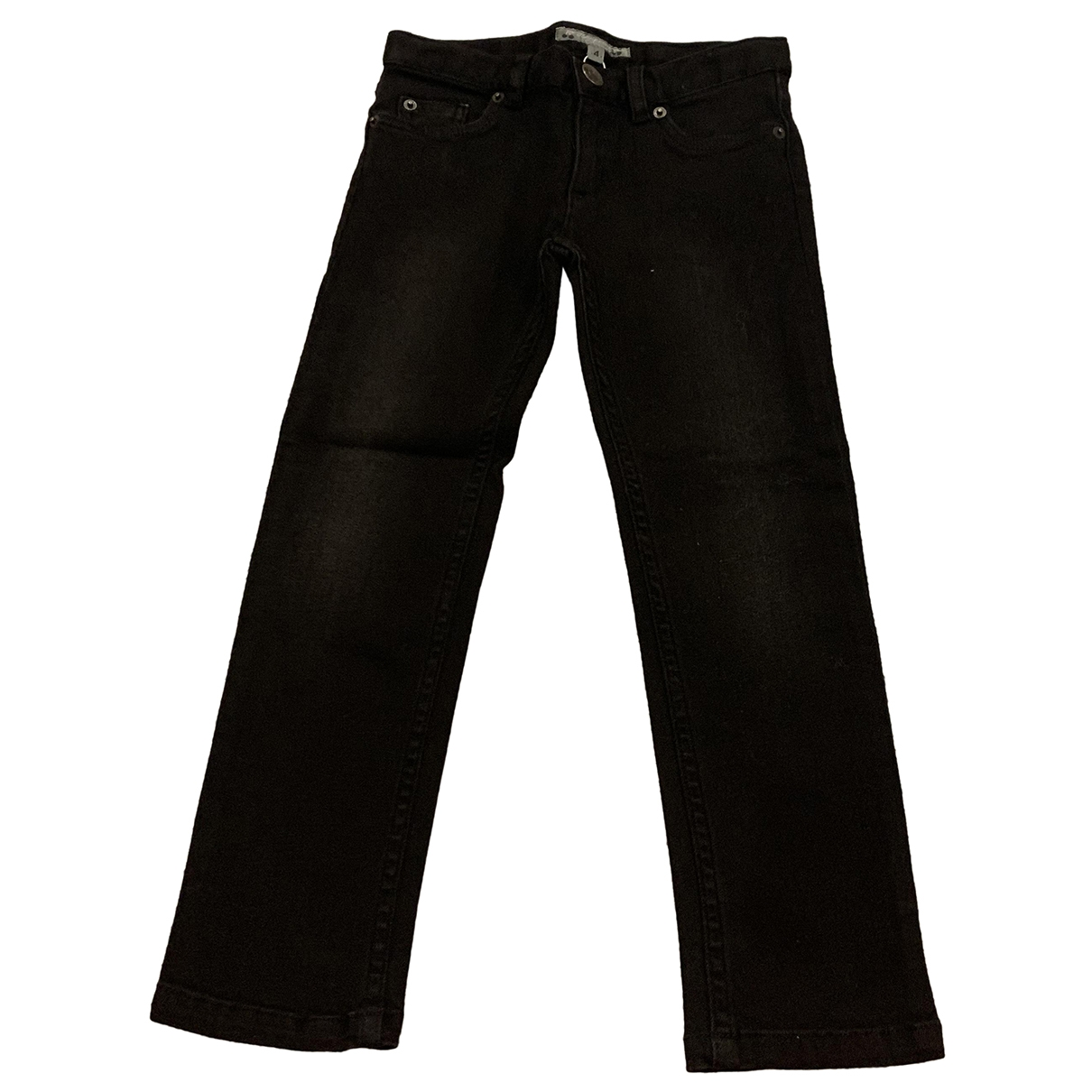 Bonpoint \N Black Cotton Trousers for Kids 4 years - up to 102cm FR