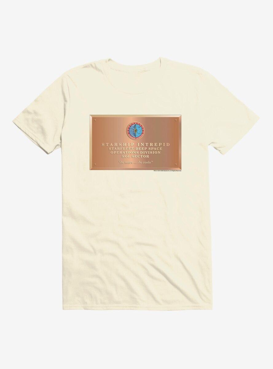 Star Trek Starfleet Deep Space Plaque T-Shirt