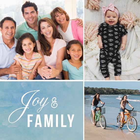 Family + Friends 12x12 Designer Print - Matte, Prints -Joy and Family