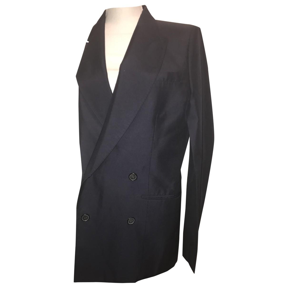 Maison Martin Margiela \N Blue Cotton jacket for Women 40 FR