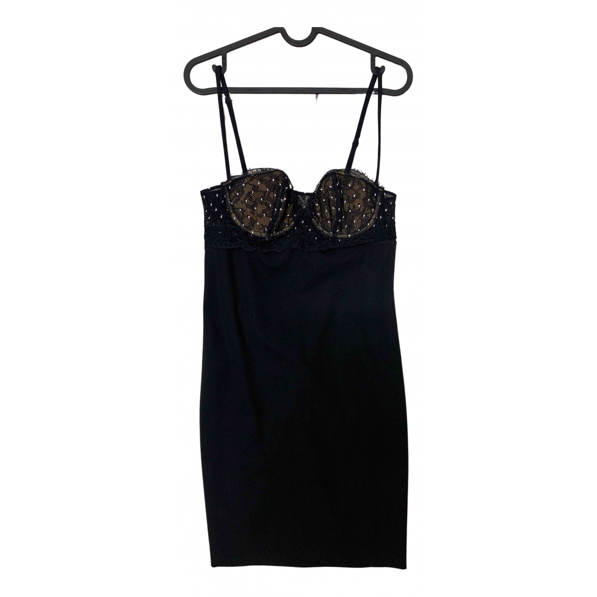 La Perla \N Kleid in  Schwarz Baumwolle
