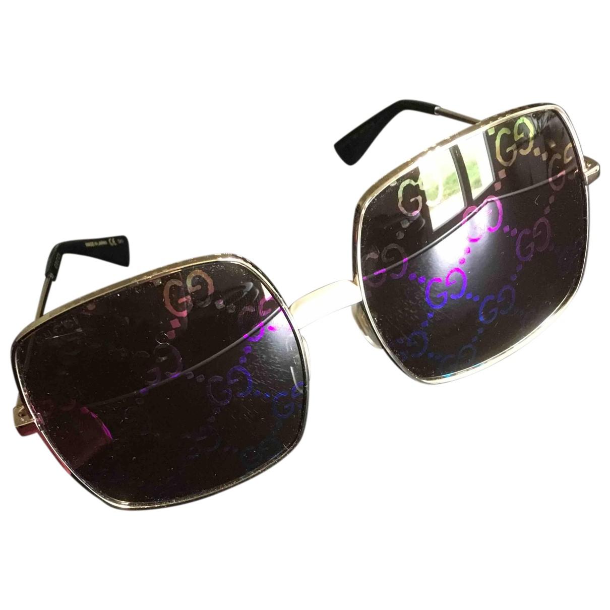 Gucci N Gold Metal Sunglasses for Women N