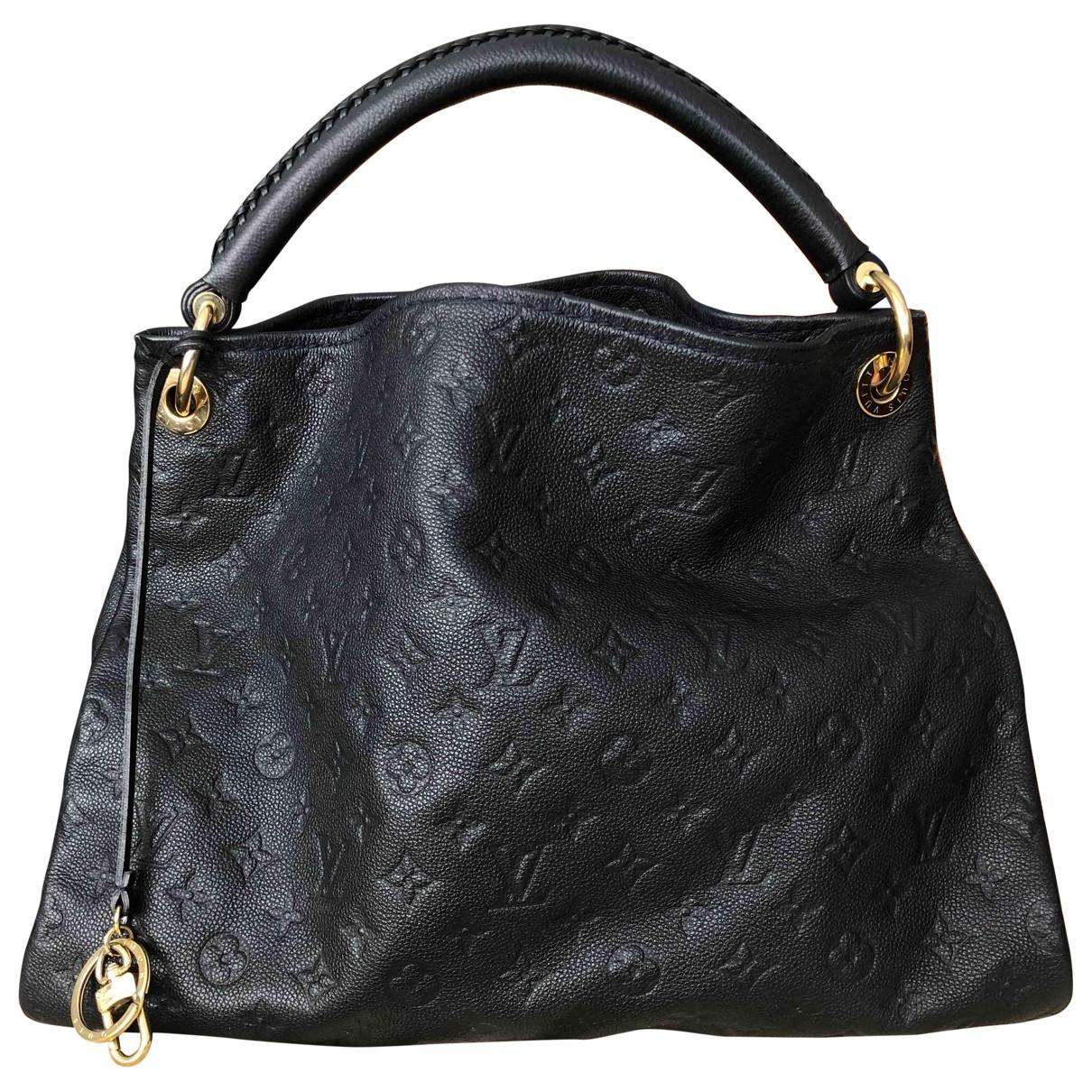 Louis Vuitton Artsy Blue Leather handbag for Women \N