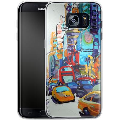 Samsung Galaxy S7 Edge Silikon Handyhuelle - Busboys Lament von Tom Christopher