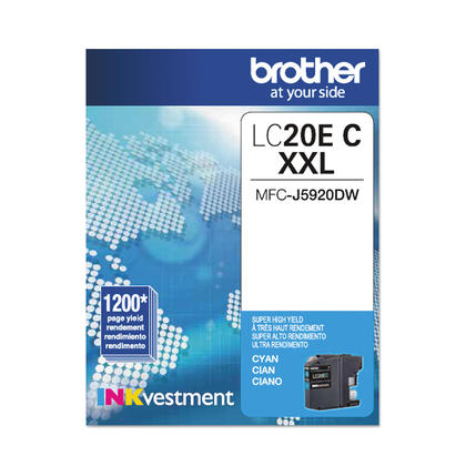 Brother MFC-J775DW XL Original Cyan Ink Cartridge, Super High Yield