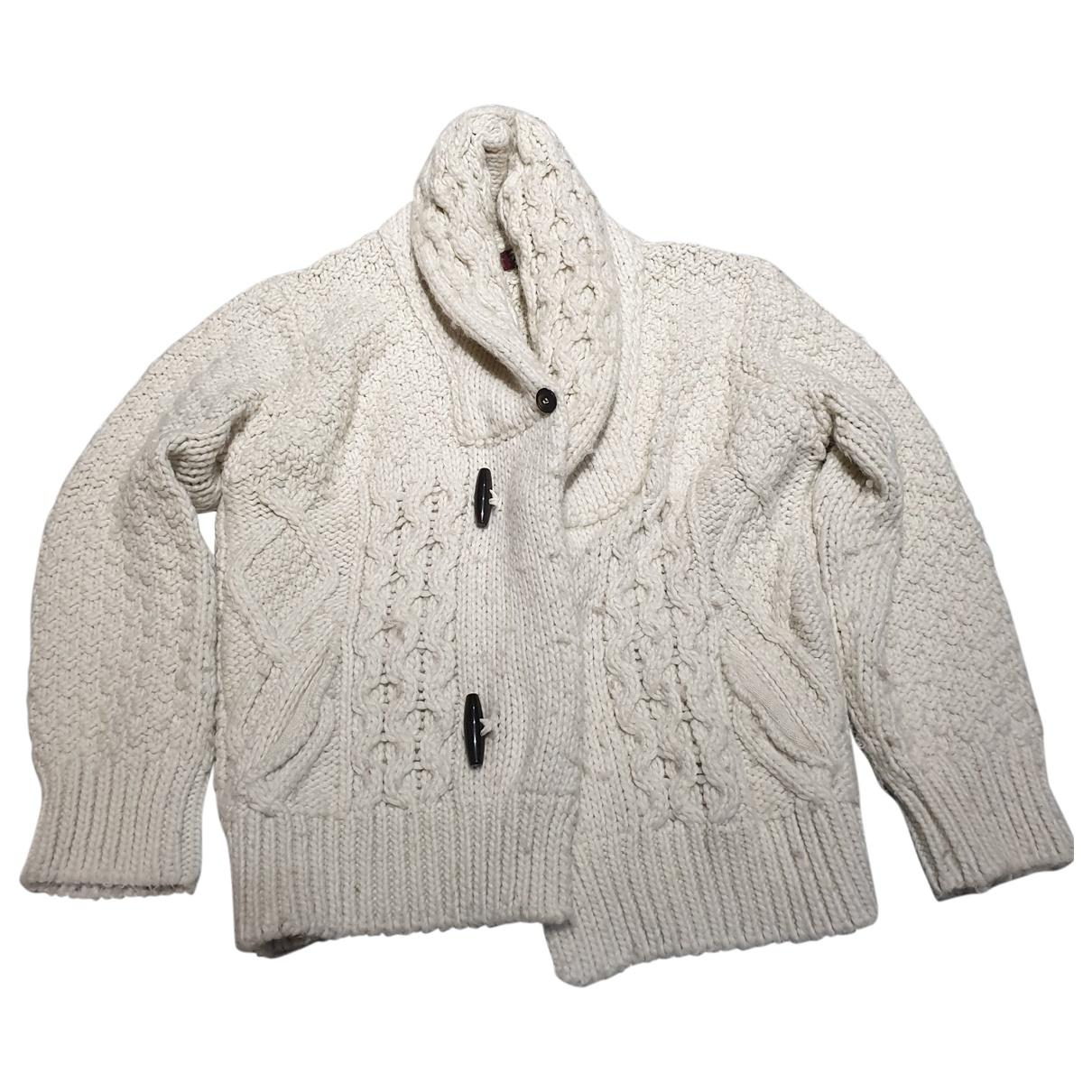Zara - Pulls.Gilets.Sweats   pour homme en laine - blanc