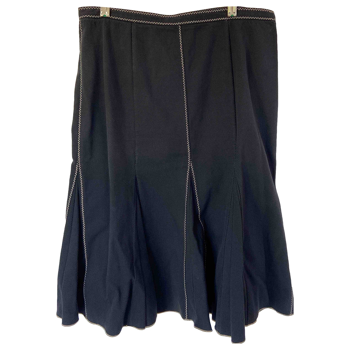Paule Ka - Jupe   pour femme en coton - elasthane - noir