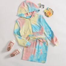 Taschen  Batik Laessig Maedchen Zweiteilige Outfits