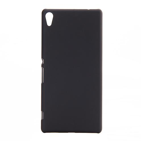 Back Case Ultra-thin Silky Smooth Protective Phone Cover Back Shell For Sony Xperia C6 Smartphone - Black