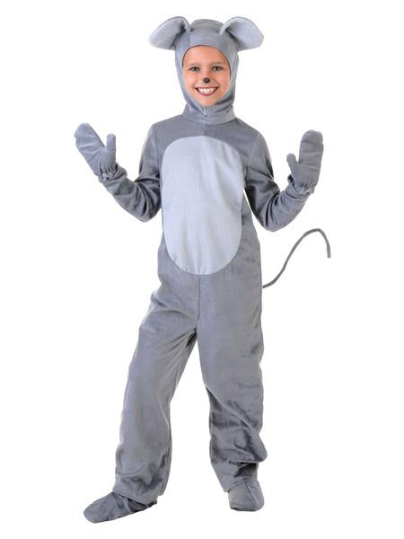 Milanoo Halloween Kid\'s Mouse Jumpsuit Cosplay Costume Halloween