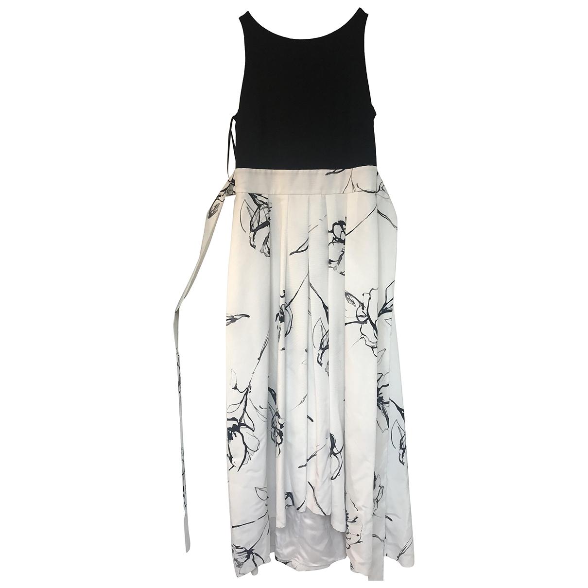 Lauren Ralph Lauren \N Kleid in  Weiss Baumwolle