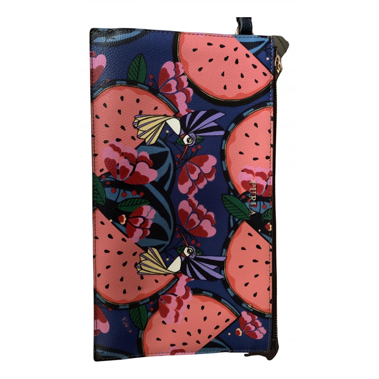 Furla \N Multicolour Leather Clutch bag for Women \N