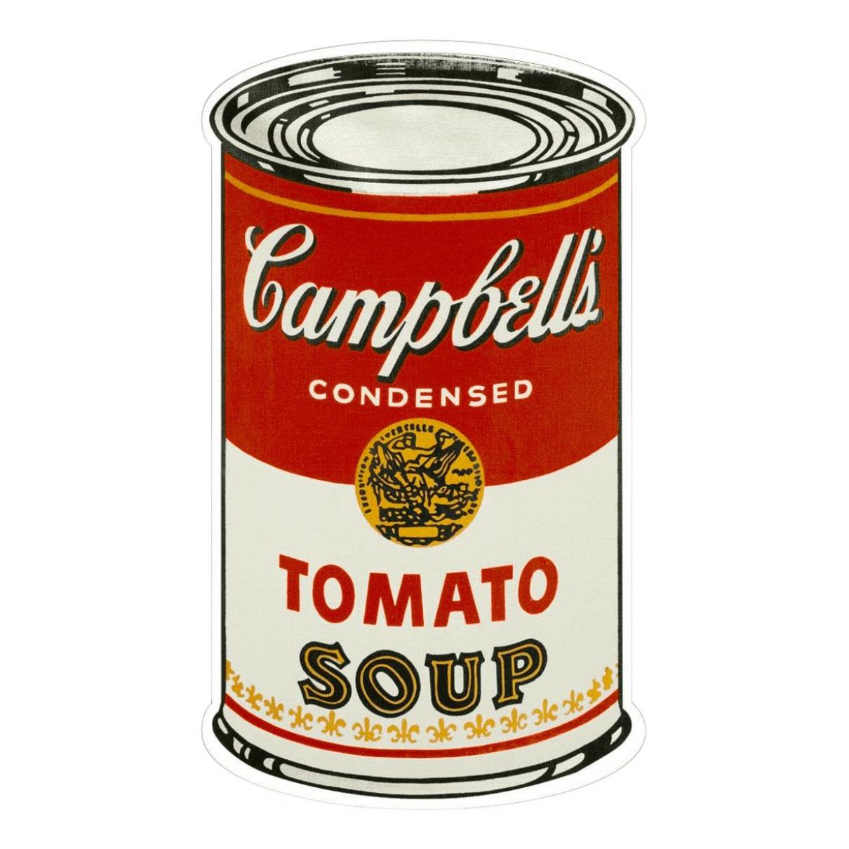 Andy Warhol - Art   pour lifestyle en coton - multicolore