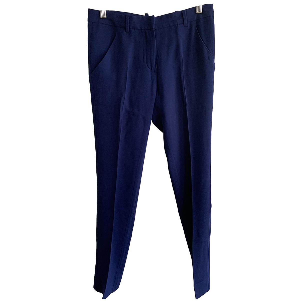 Balenciaga - Pantalon   pour femme - bleu