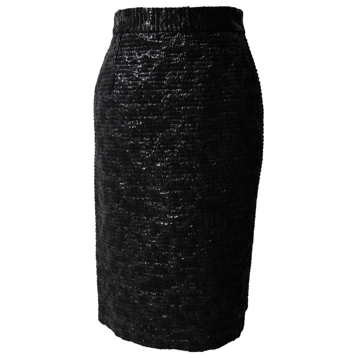 Dolce & Gabbana N Black Wool skirt for Women 46 IT