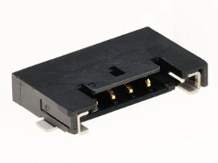 Molex , 6 Way, 1 Row, Right Angle PCB Header (3000)