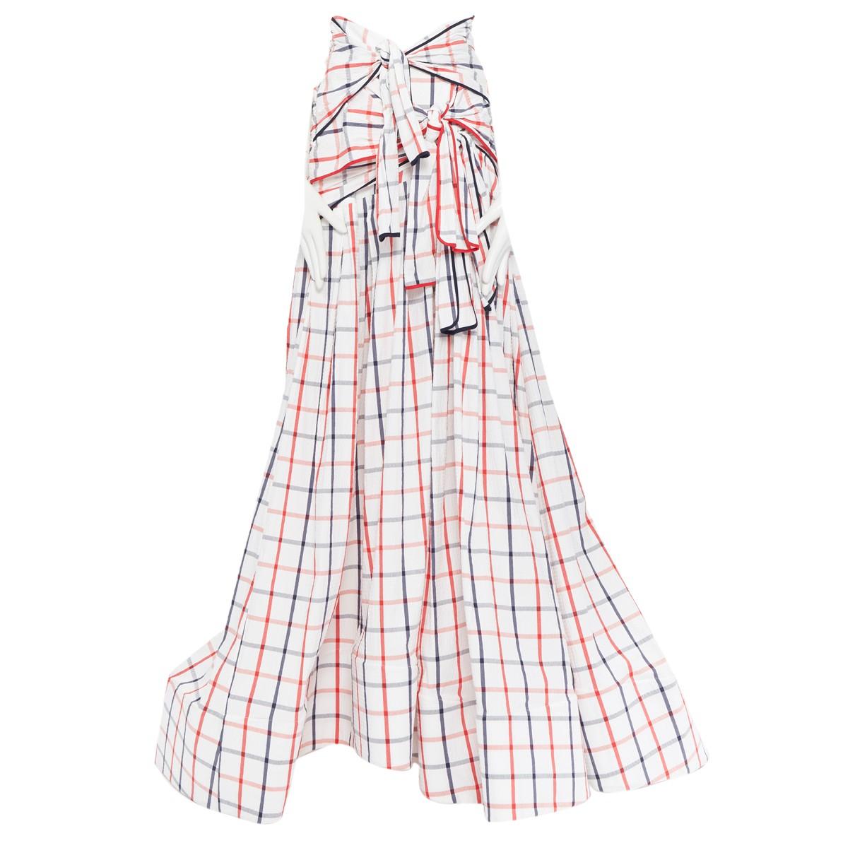 Rosie Assoulin - Jupe   pour femme en coton - blanc