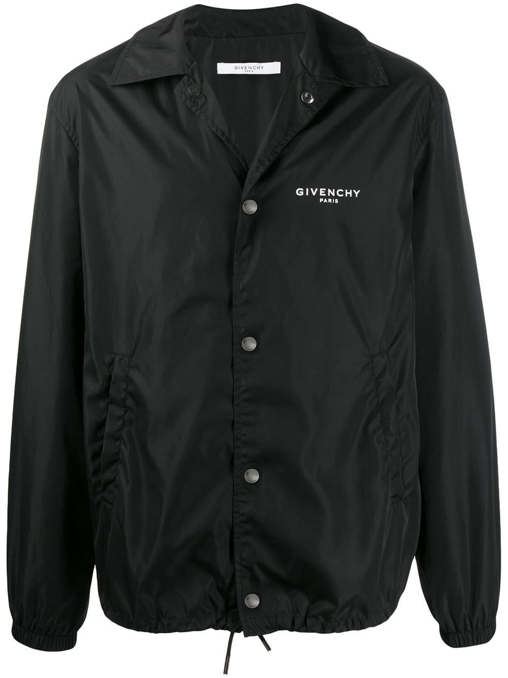 Logo Print Winter Jacket