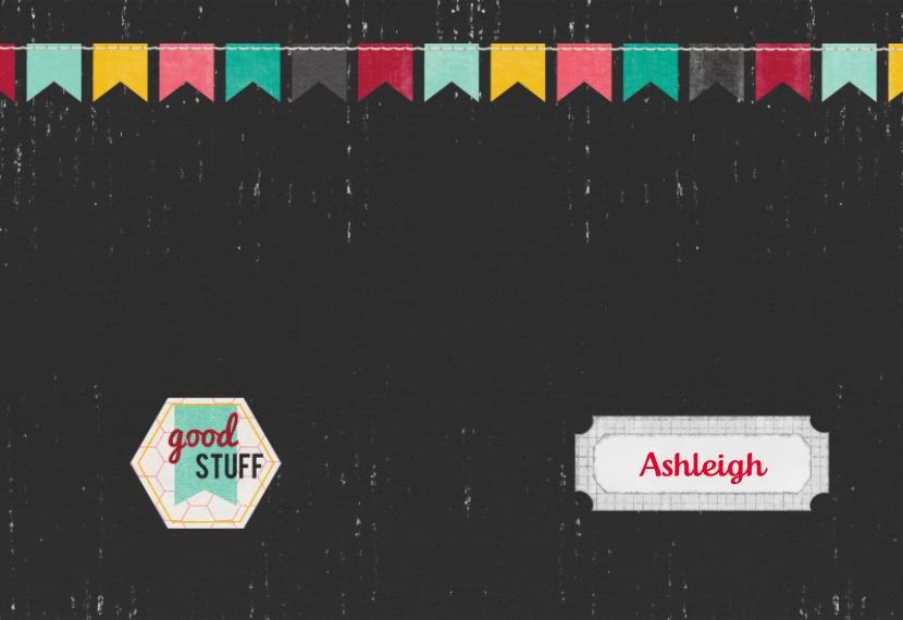 Good Stuff 5x7 Spiral Notebook, Card & Stationery -Good Stuff Banners