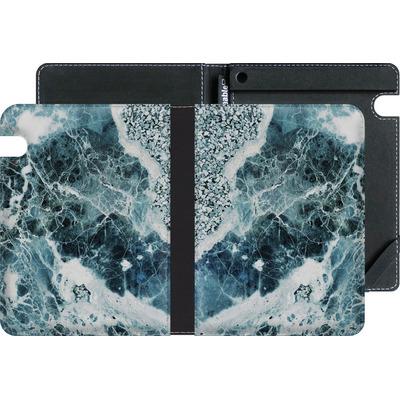 Amazon Kindle Voyage eBook Reader Huelle - Blue Sea Marble von Emanuela Carratoni
