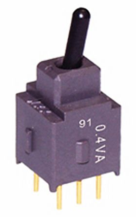 NKK Switches DPDT Toggle Switch, Latching, PCB