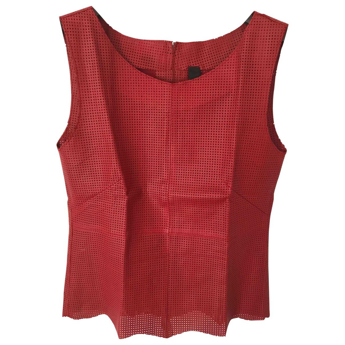 Camiseta sin mangas de Cuero Non Signe / Unsigned