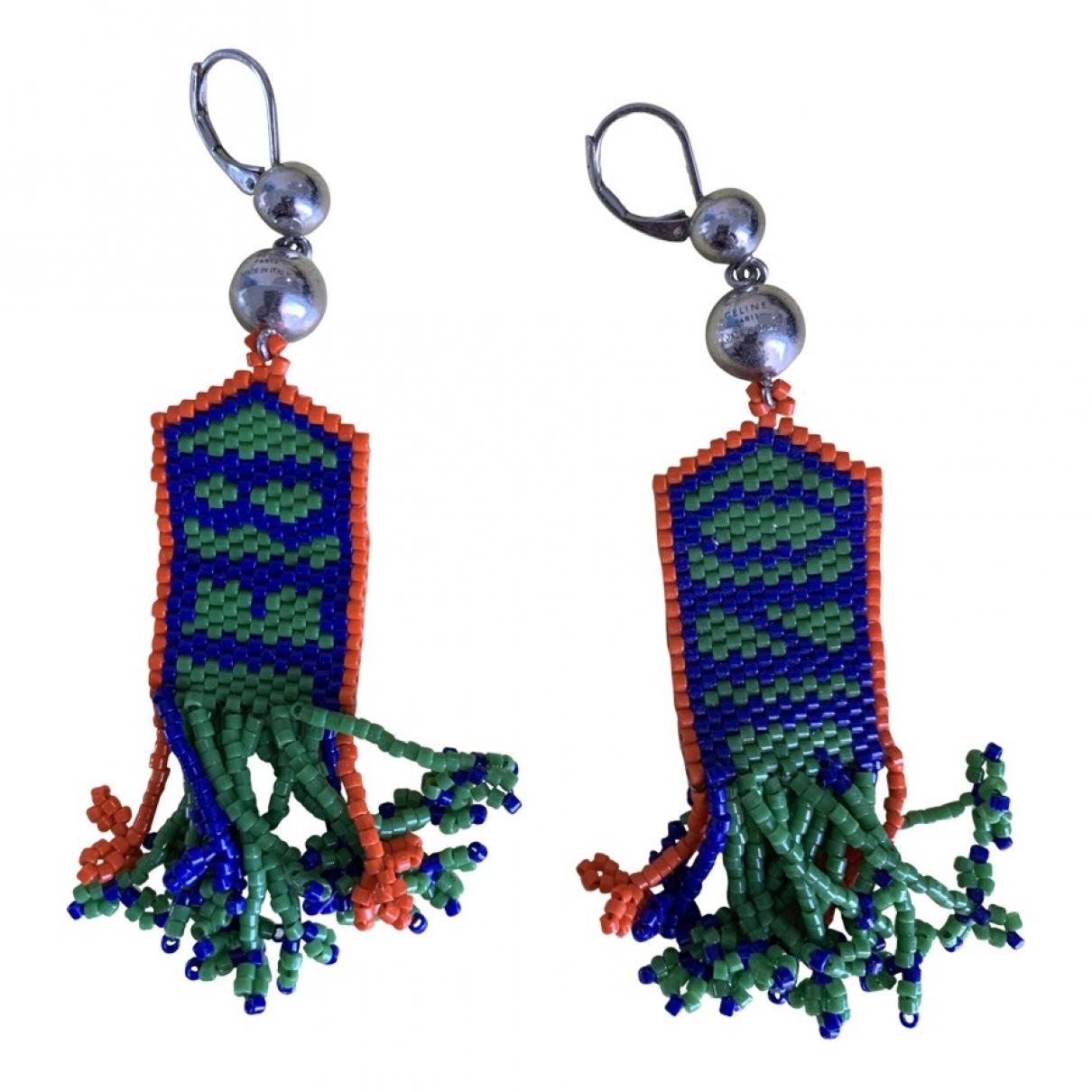 Celine - Boucles doreilles   pour femme en perle - multicolore
