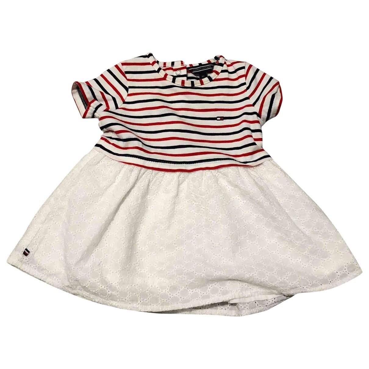 Tommy Hilfiger - Robe    pour enfant en coton - blanc