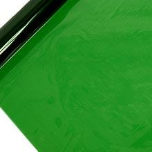 Polypropylene Clear Green Plastic Cello Film Colored - 40 X 100' - Propylene Plastic - Poly Film by Paper Mart