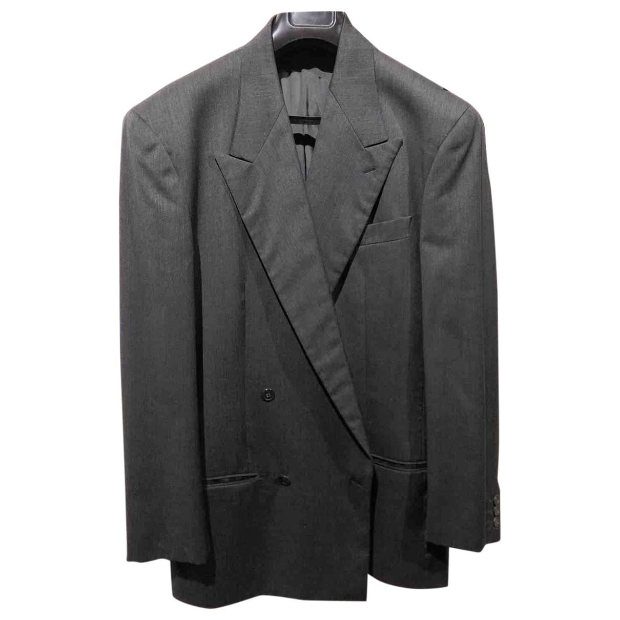 Giorgio Armani - Vestes.Blousons   pour homme en laine - gris