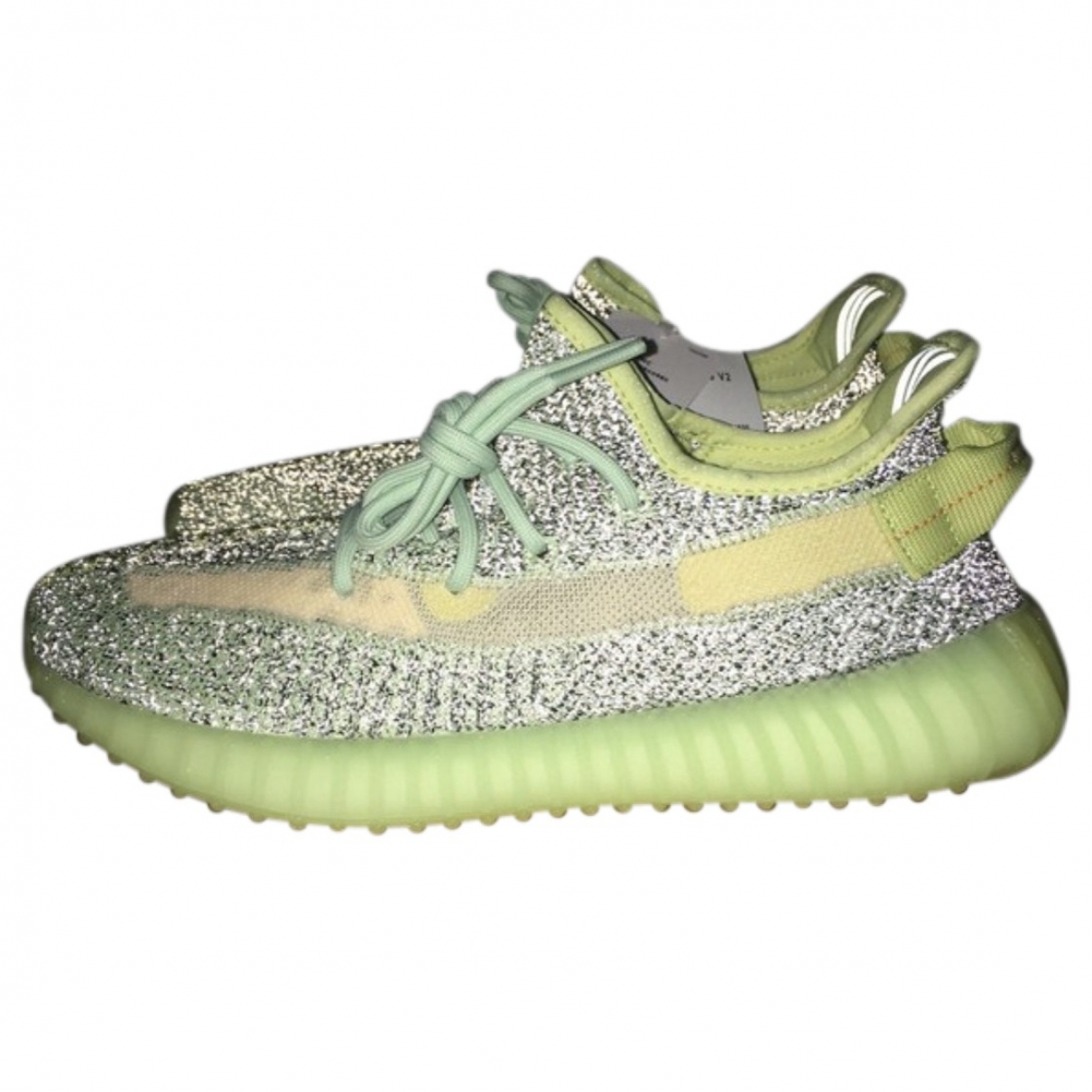 Yeezy X Adidas - Baskets Boost 350 V2 pour homme en toile - vert