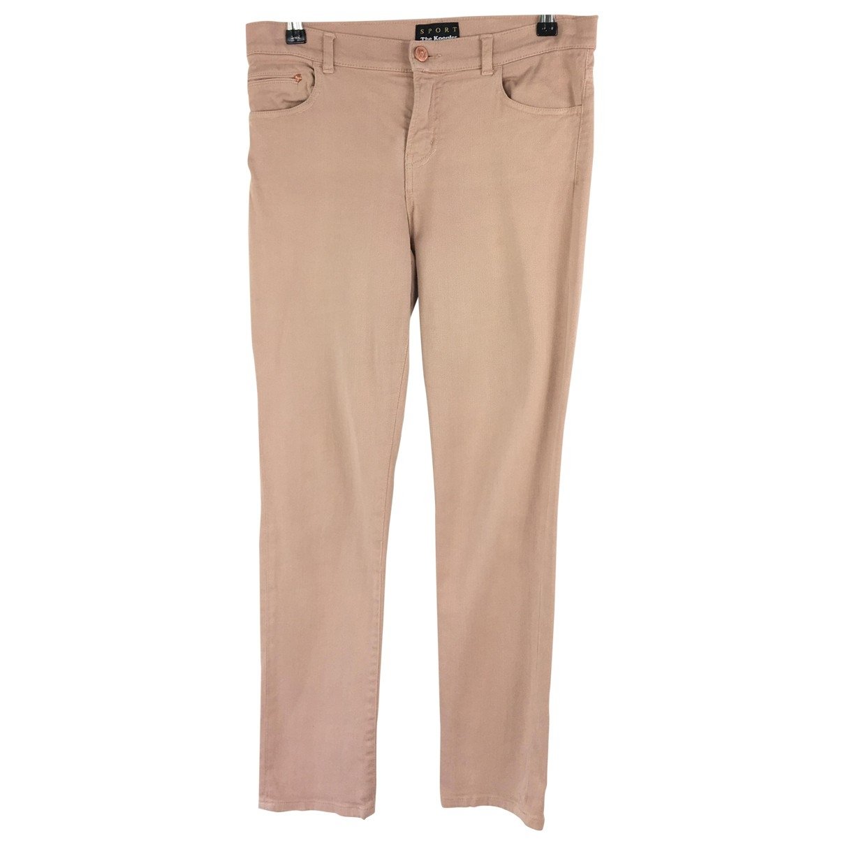 The Kooples \N Pink Cotton - elasthane Jeans for Women 28 US