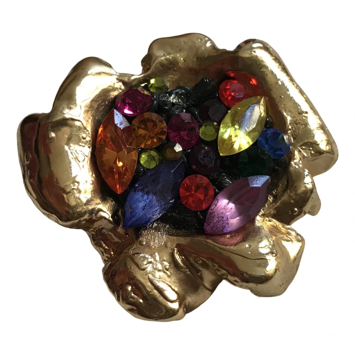 Broche en Metal Multicolor Jacky De G