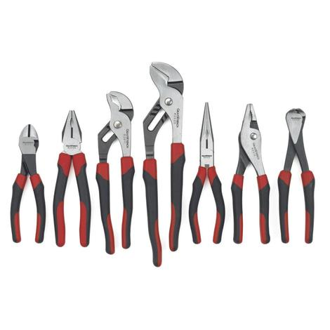 GearWrench Pliers Set, 7 Pc. Mixed