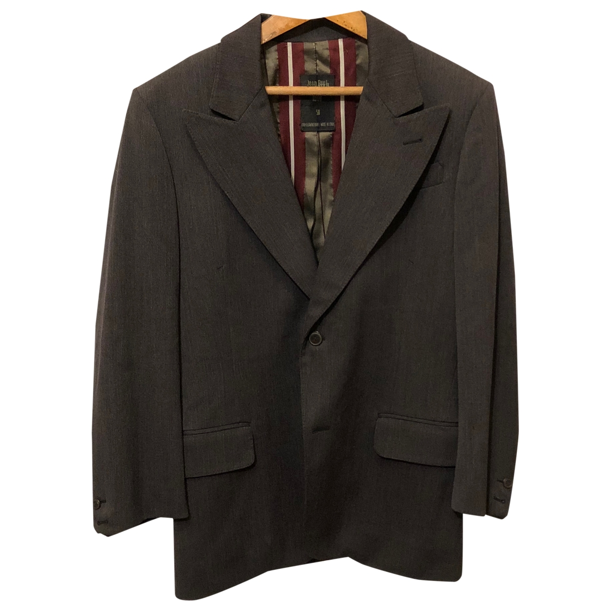 Jean Paul Gaultier \N Jacke in  Grau Wolle