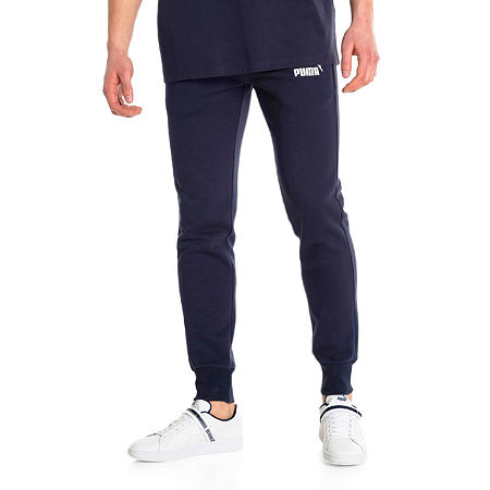 Puma Fleece Jogger Pants, Xx-large , Blue