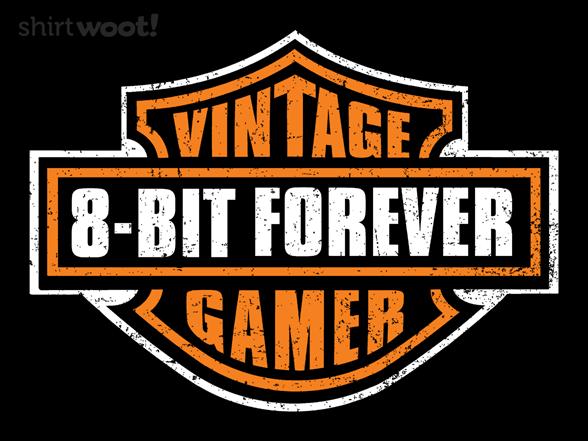 Vintage 8-bit Gamer T Shirt